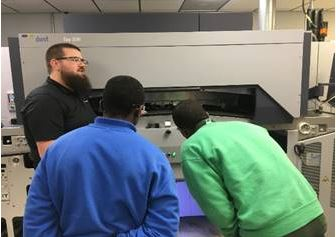 Brooksville Academy, a non-secure program for boys operated by Youth Opportunity Investments, took eleven youth on a field trip to Accuform.