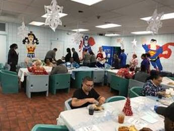 southwest holiday party