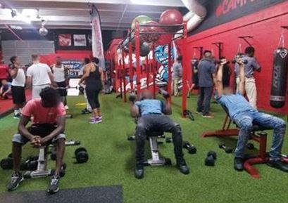 broward youth at gym