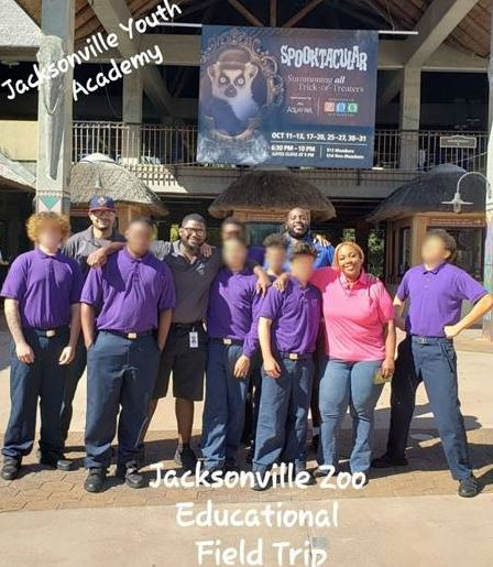jacksonville youth at zoo