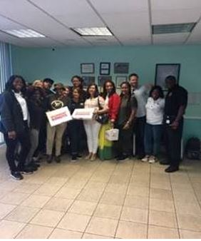 Miami Dade Regional Juvenile Detention Center administrative staff provided the education staff with a breakfast of donuts and coffee.