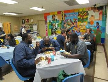 Volusia Regional Juvenile Detention Center recently held an all-hands meeting for staff where they provided BBQ.