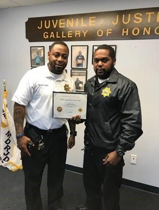 Major Ell Fance and Sgt. Lahara Paul