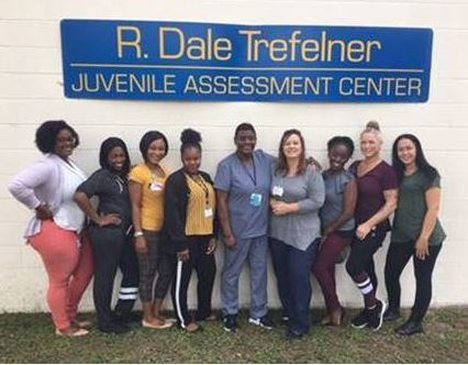st lucie visited by nurses