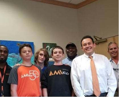 Rep. Diamond at AMIKids