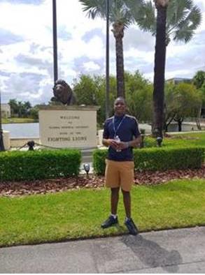 Youth at Florida Memorial University campus
