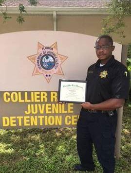 Collier Regional Juvenile Detention Center's Assistant Superintendent Samuel Sainval