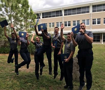 cadets graduatin