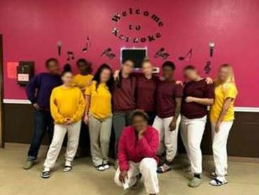 Dove Academy recently hosted a karaoke night for the youth.