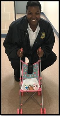 """Youth at Escambia RJDC participated in an """"EGG""""perience project, where they took care of """"egg babies"""" (hollowed out eggs) for a full week"""