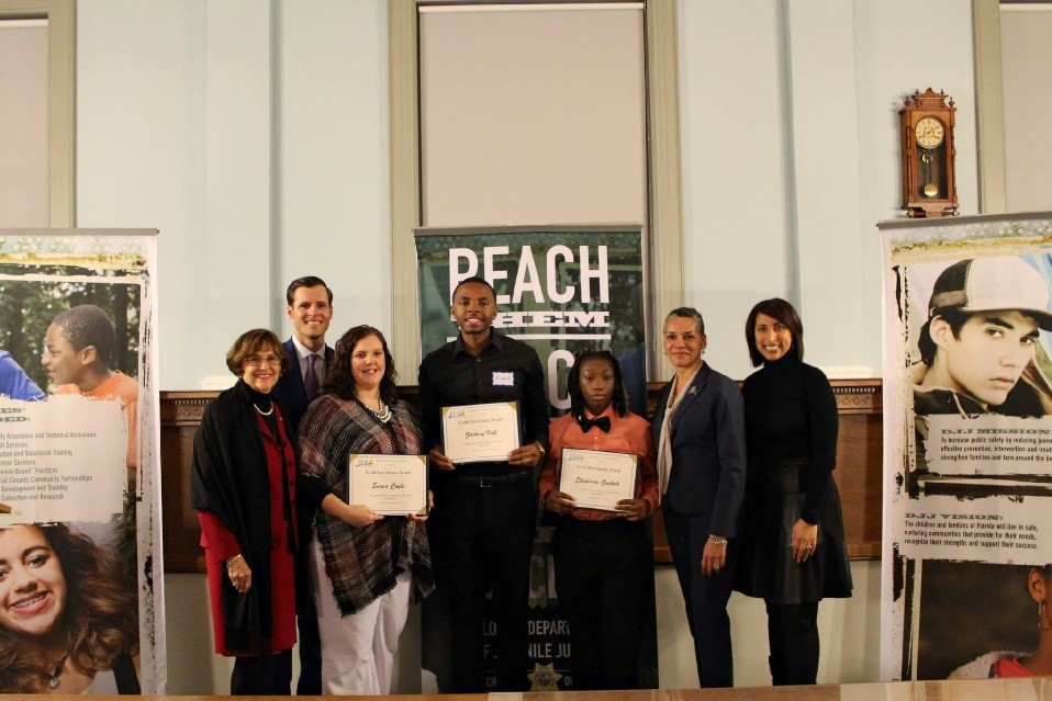 youth ambassadors with leadership