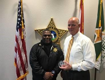 Pinellas JDC Superintendent Major Reginald T. Allen, Pinellas County Sherriff Bob Gualtieri