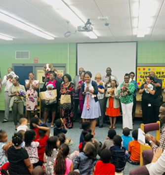 Prevention Team Promotes Reading, Literacy and Learning