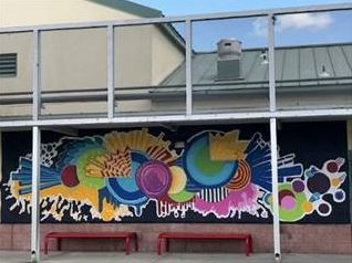Murals at Pinellas RJDC