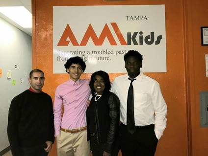 amikids with representative hart