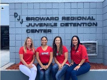Alexis Newman, Brooke Sims, Trisha McCarthy and Tisha Smith
