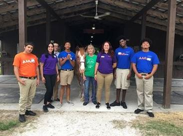 AMIkids Southwest Florida had the pleasure of spending the morning volunteering at Special Equestrians, Inc.