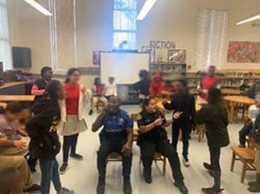 miami shores youth with police