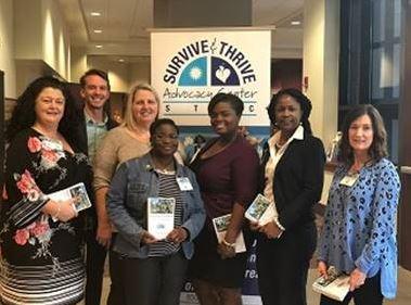 FCCD Members Gina Giacomo, Mathew Page, Tameka Thomas, Debbie Kissane, Jashett Omeally, Yvonne Woodard, Michelle Whithworth