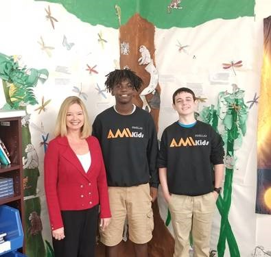 ami youth with councilwoman