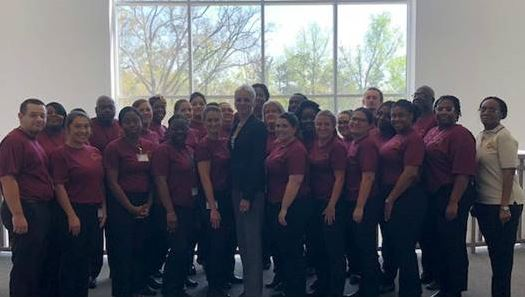 Secretary Marstiller attended juvenile probation officer training at the Florida Public Safety Institute in Midway.