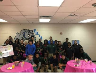 Palm Beach Youth Academy hosting a Mother's Day luncheon for the women of Mothers Against Murderers Association (M.A.M.A).