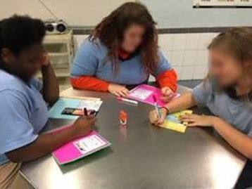 Youth from St. Lucie Regional Juvenile Detention Center made their own personalized Mother's Day cards to send home with their loved ones.