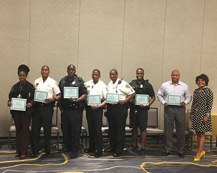 Prevention Assistant Secretary Alice Sims and honorees at Bridging the G.A.A.P. Discussion in Tampa.