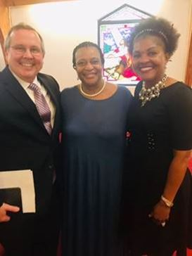 Judge David Clark, Judge Kathy Garner and Alice Sims
