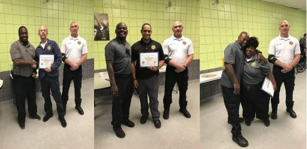 staff recipients of orange tough award