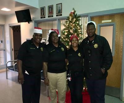Pinellas staff Major Reginald Allen,