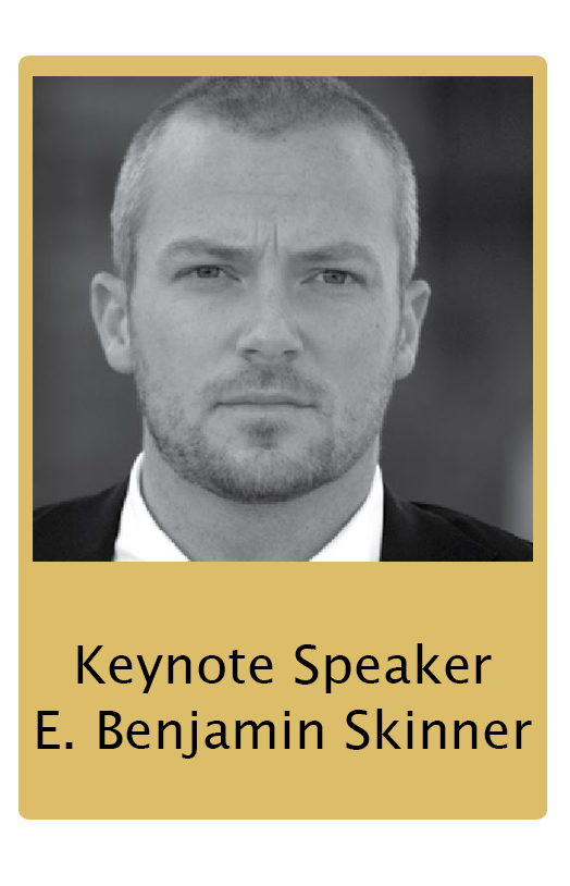 E. Benjamin Skinner Human Trafficking Summit Keynote Speaker