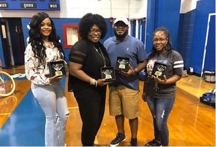 Pictured above (from left to right): Brittany Condry, Kathleen Rodgers, Rico Cooper, and Minnie Bishop