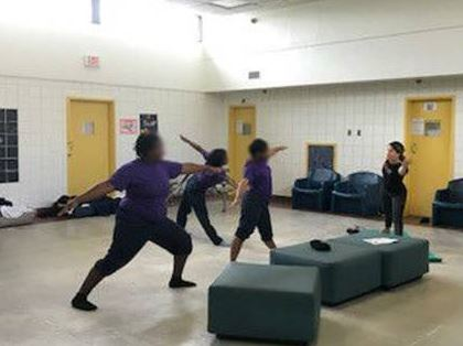 yoga class at hillsborough