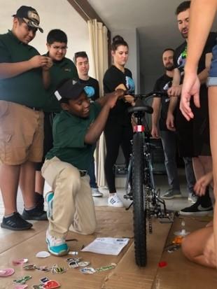 ami youth building bike