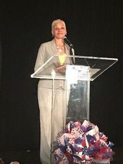 Secretary Marstiller Speaking at FCCD