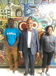 AMIkids Miami-Dade North recently hosted Miami Gardens Mayor Gilbert at the program.