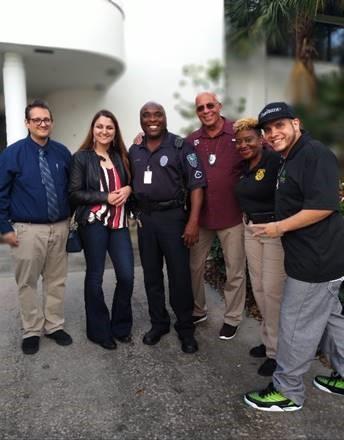 vero beach police and djj staff