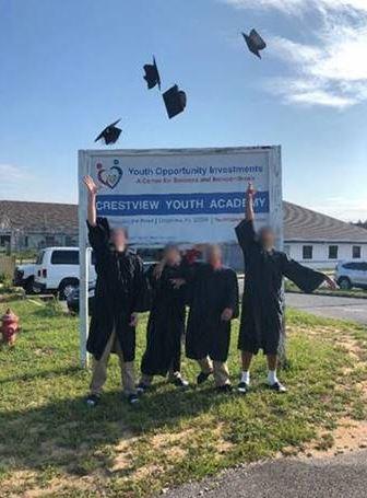 Crestview youth graduating