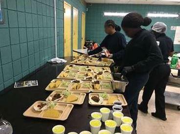 Broward Regional Juvenile Detention Center held a behavior management party.
