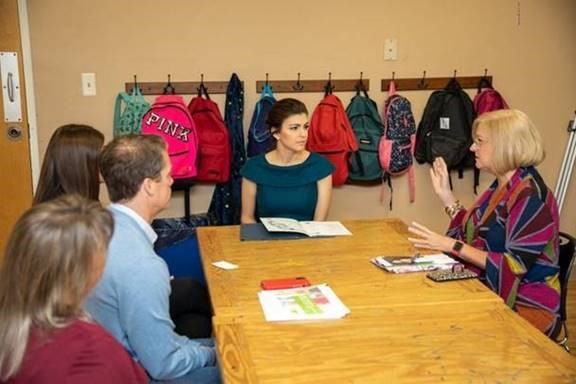 first lady Casey DeSantis with CCYS