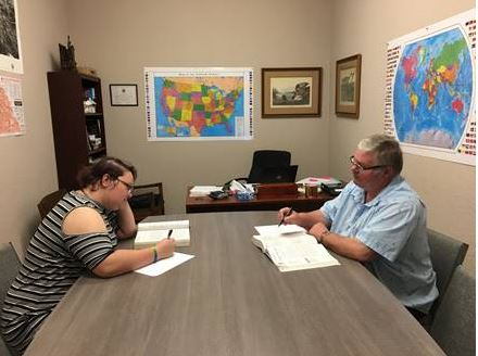Echerd Connects youth education meeting