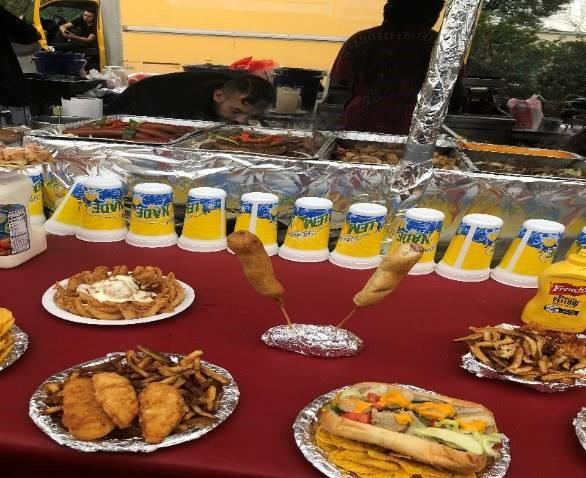 food provided at zora festival