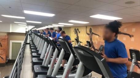 broward youth on treadmills