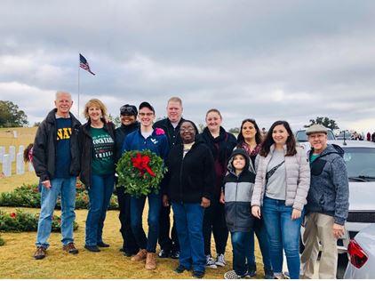 wreaths across america participants