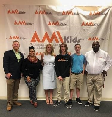 ami kids with comissioner