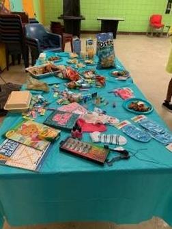 Broward Regional Juvenile Detention Center girl's night activity supplies