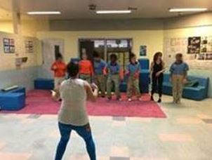 "Youth at the Orange Regional Juvenile Detention Center welcomed a visiting dance instructor, Amber Taylor, who operates a program called ""I Loved Myself for the First Time."""