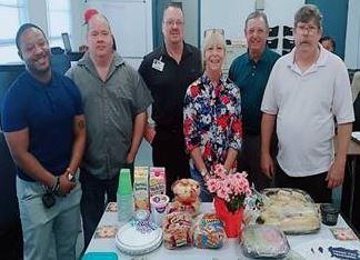 Center for Success and Independence - Ocala celebrating teacher appreciation week.