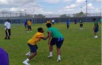Kissimmee Youth Academy flag football football game